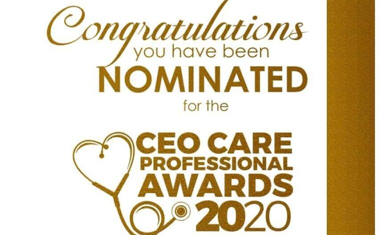 Photo of Maureen Mbondiah nominated for UK CEO Care Professionals Awards 2020
