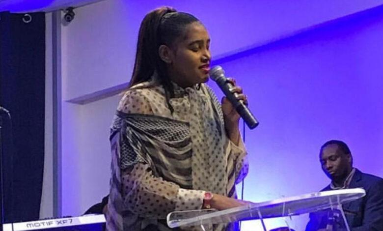 Photo of UK-based Zim gospel singer Collette Manny's two songs in Maranatha awards