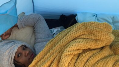 Photo of Zim CEO sleeps out for UK vulnerable